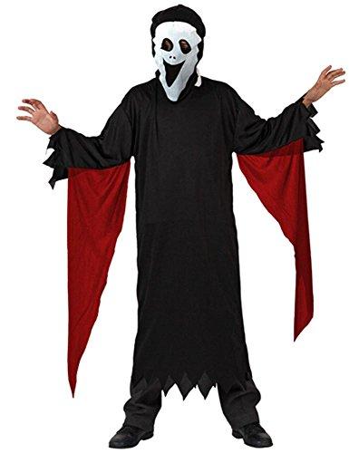 Imagen de atosa  disfraz de scream para niño, talla 10  12 años 98988
