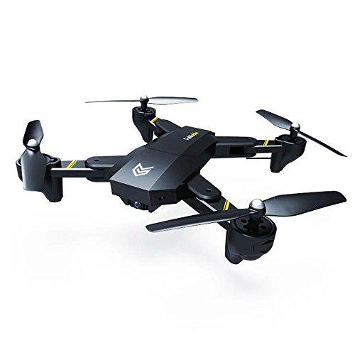 Springdoit Aereo ad Altezza Fissa Pieghevole a Quattro Assi di Grandi Dimensioni Mini e Macchina Fotografica WiFi FPV Drone Giocattolo...