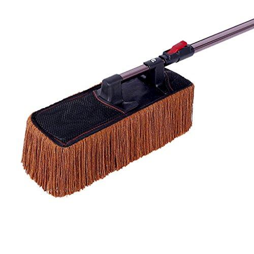 Preisvergleich Produktbild Home mall- Chenille Car Wash Reinigungsbürste Duster Staubwachs Anhänger Mop Microfiber Telescoping Staubwalze Auto Duster