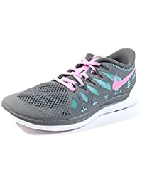 7e117d8cd4b6 ... denmark nike womens free 5.0 2014 running shoes grey pink color size  8.5 oak grey 3834b