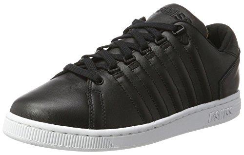 K-Swiss Herren Lozan III TT Sneaker, Schwarz (Black/White/Camo), 45 EU