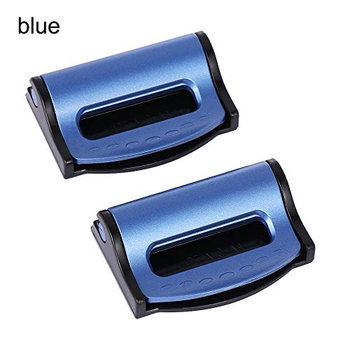 2Pcs Auto Adjustment Lock Universal Improves Comfort Socket Car Seat Seatbelt Stopper Clamp Buckle Belt Safety Adjuster Clip (Clip Seat Safety Belt Car)