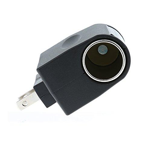 Caoly 220V AC to 12V DC Car Cigarette Lighter Wall Socket Plug Adapter Converter -