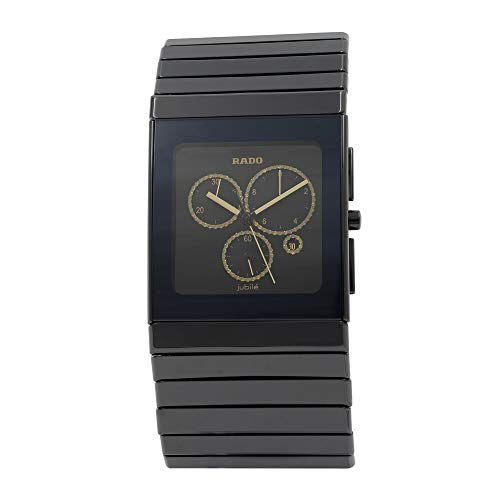 RADO Herren-Armbanduhr Armband Keramik + GEHÄUSE Schweizer Quarz R21714712