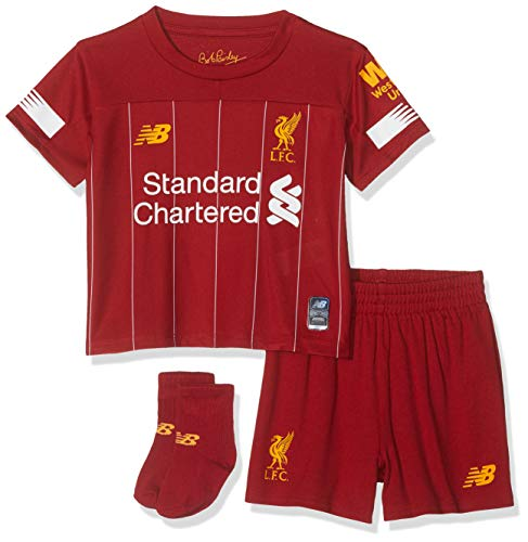 New Balance Kid's LIVERPOOL FC 201920 HOME BABY KIT Set, 12 18 Months