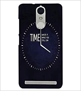 PrintDhaba Quote D-3356 Back Case Cover for LENOVO K5 NOTE (Multi-Coloured)