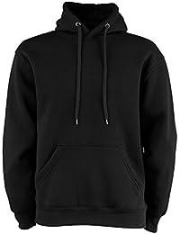Tee Jays - Sudadera de algodón con capucha para hombre