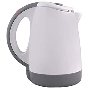 Morphy Richards Voyager 100 0.5-Litre Electric Kettle (White and Gray)