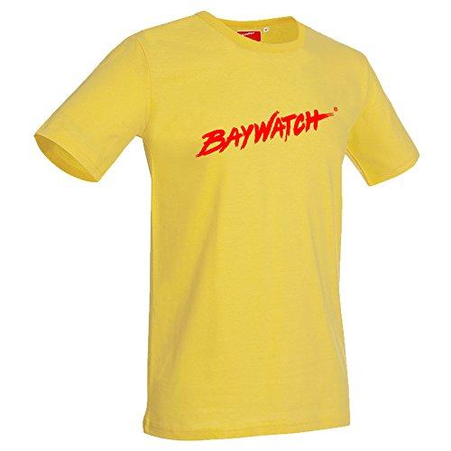 Lifeguardgear Herren T-Shirt Gelb Gelb Gr. Medium, Gelb - (Life Guard Kostüm)