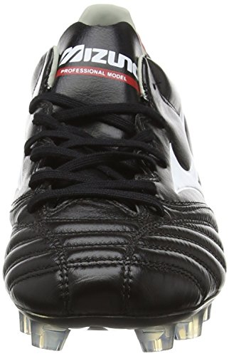 Mizuno - Morelia Neo Kl Md - Chaussures de Football - homme Noir - Black (Black/White/Red)
