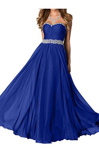 Missdressy - Robe - Trapèze - Femme Bleu - Bleu royal