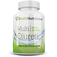 Multi Diuretic con vitamina B6 – Quemagrasas – Diurético – Antioxindante – Salud del sistema urinario  100% natural y vegetal  180 Cápsulas.