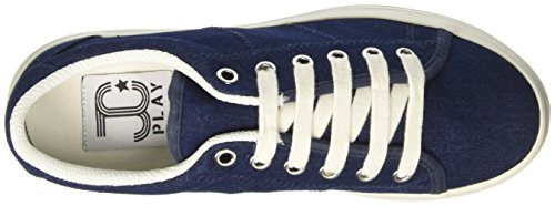 Jeffrey Campbell Zomg, Scarpe Indoor Multisport Donna Blu (Denim Blu)