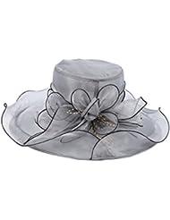 Elegante gafas de moda vestidos de playa de viajes vacaciones sol sombrero (seis colores disponibles) ( Color : 1 )