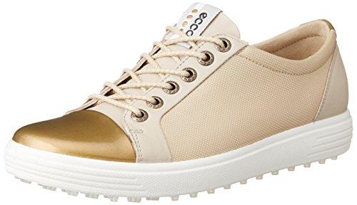 ECCO Damen Womens Golf Casual HYBRID Golfschuhe, Beige (50416OYESTER/GOLD), 37 EU