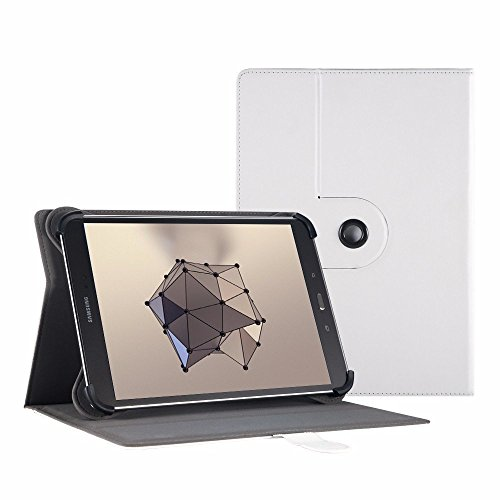 Easyacc 360 Grad Drehung Universal 10 Zoll Tablet Tasche Case Schutzhülle für YunTab 3G Tablet 10.1 Zoll/ Lenovo Tab 2 A10-70/ Lenovo TAB3 10 Plus/ XIDO X110 10 Zoll/ Medion Lifetab S10321 10.1