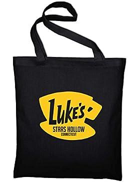 Luke's Stars Hollow Diner Cafe Logo Fan Jutebeutel