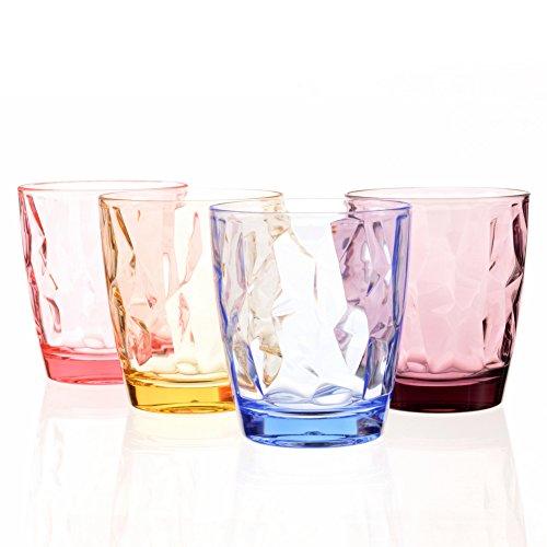 Ensemble de verres à boire Plastique Acrylique Incassable...