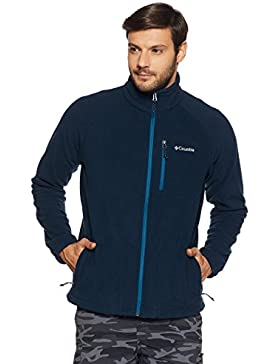 Columbia Fast Trek Ii Full Zip Fleece,  Forro polar Para Hombre, Azul (Collegiate Navy), M