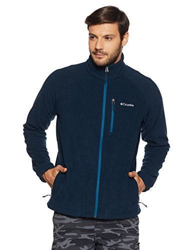 Columbia Giacca in pile, Fast Trek II, Uomo, Collegiate Navy, M, AM3039