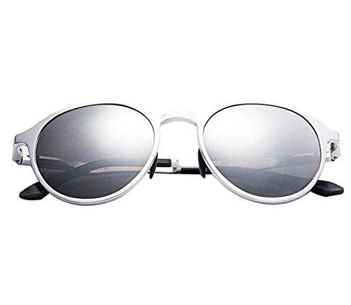 Male And Female Aluminum Magnesium High - Definition Sunglasses Galvanized Film Sunglasses 3 - Color