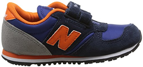 New Balance Ke420, Baskets mode mixte enfant Bleu (Loi Blue/Orange)