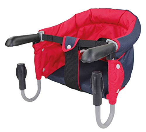 Haberkorn Tischsitz Kinder Baby - Babysitz rot/blau