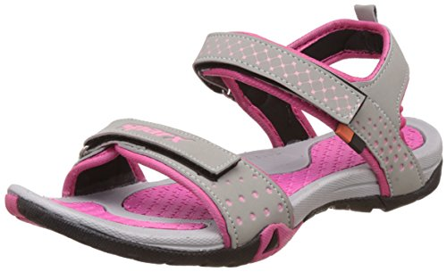 Sparx Women's Pink and Grey Fashion Sandals - 7 UK/India (40 EU)(SS-0803)  available at amazon for Rs.599