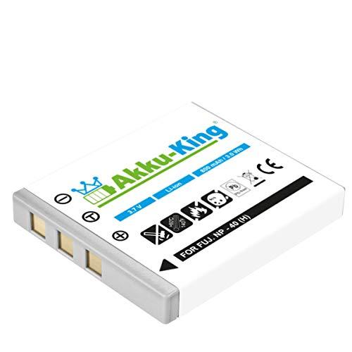 Akku-King Akku kompatibel mit Fuji NP-40 - Li-Ion 800mAh - für FinePix F402, F455, F460, F470, F480, F610, F650, F700, F710, F810, F811, V10, Z1, Z2, Z3 - Fuji Np 40