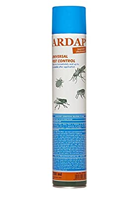 Ardap Pest control spray 750ml, Flea spray, Insect and bug killer for household and outdoor, Immediate and Long lasting effect   Made in Germany