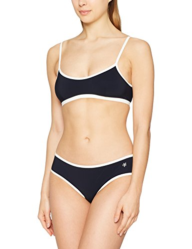 Marc O´Polo Body & Beach Damen Beach W-Bustier Bikini, marine (blauschwarz 001), 40 (Herstellergröße 040)