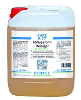 CARE R 77 Abflussrohr-Reiniger 5 Liter Kanister