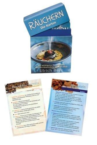 Raumduft Räucherwerk - Räucher-Karten-Set Ulrich Berk | Esoterik günstig online kaufen.