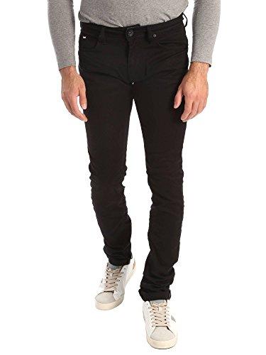 Gas 351177 Jeans Uomo Nero 32