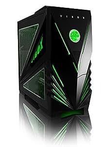 Vibox Predator Green Midi Atx Desktop Computer Gaming Pc