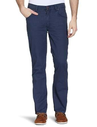 Wrangler - Jean Straight Leg - Homme - Bleu (Navy) - FR : W33/L30 (Taille fabricant : W33/L30)