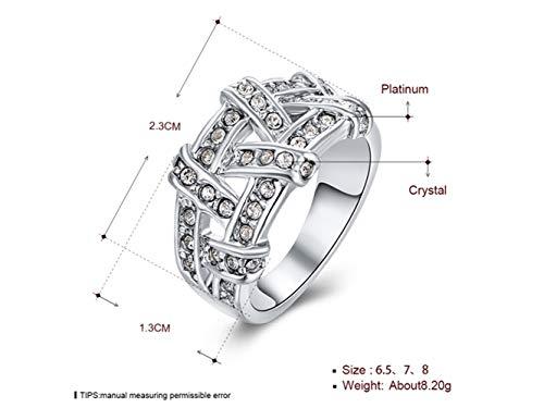 Ferferferwon anello di fidanzamento, r063 all'ingrosso di alta qualitànickle free antiallergico jewelry 18k anello placcato oro reale per le donne