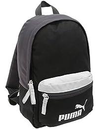 Puma - Mochila para niños, tamaño pequeño, color negro