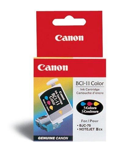 Canon BCI 11–Tintenbehälter–1x Gelb, Cyan, Magenta–100Seiten (Bci-3 Canon Inkjet-patrone)