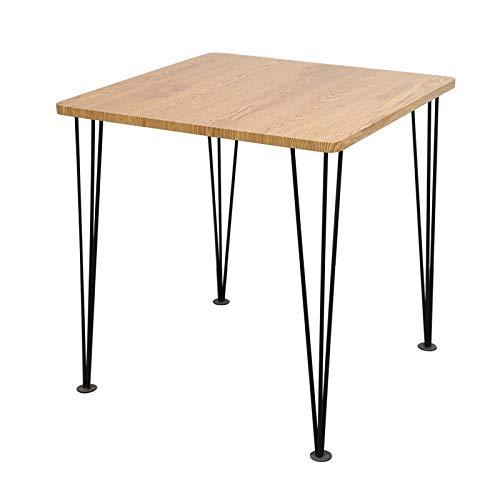 WU Kleines Wohnzimmer Couchtisch Aus Eisen, Einfache Runde Sofa-Mini-Teekanne, Moderner Nachttisch-Nachttisch, Kleiner Tisch,C,60 * 60 * 45 cm