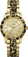 Reloj Guess W0014L2 de cuarzo para mujer con correa de acero inoxidable, color multicolor de Guess