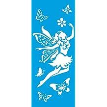 42cm x 17cm Stencil Plantilla Plástico Reutilizablehttps://amzn.to/2OKdBhe