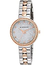 Giordano Analog Silver Dial Women's Watch-A2068-66