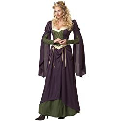 Ladies - Disfraz de medieval para mujer, talla L (213108)