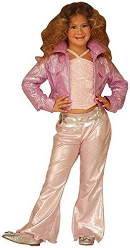 WIDMANN Kinderkostüm beauty Pop Star Kostüm in pink Größe 116