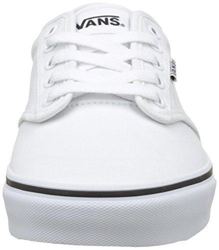 Vans Mn Atwood, Sneakers Basses Homme Blanc (Black Foxingwhite/white)