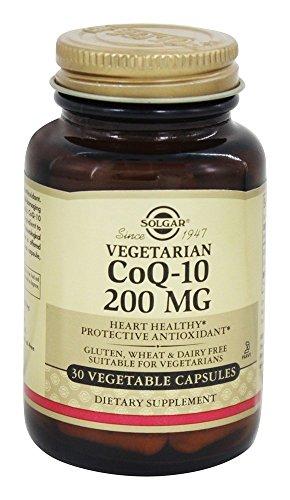 Solgar – Vegetarian CoQ-10 200 mg. – 30 Vegetarian Capsules