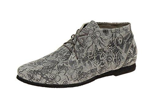 Think!  0-80720-09, Chaussures à lacets et coupe classique femme Gris