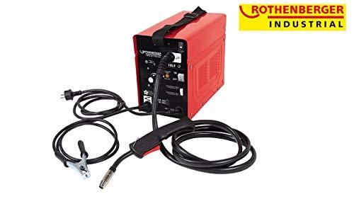 ROTHENBERGER Industrial RoCored Welder 90 , tragbares Schweißgerät für Fülldraht inkl. Zubehör als 11teiliges Set - 1500000542