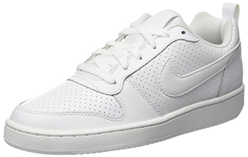 Nike Herren Court Borough Low Basketballschuhe, Elfenbein (White 111), 38.5 EU